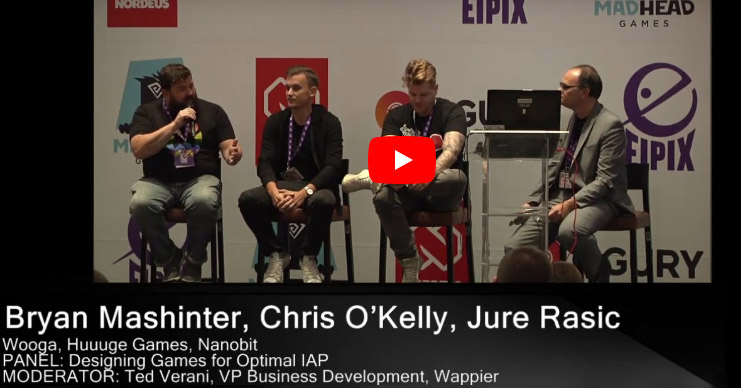 casual connect, events, mobile game panel session, wappier, videos