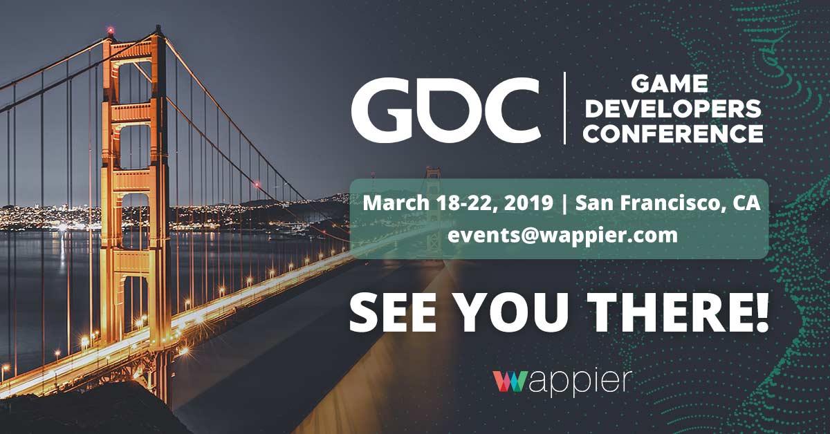 GDC San Francisco 2019