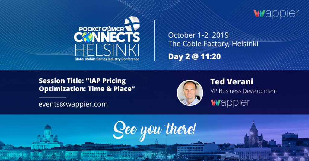 wappier at PGC Helsinki 2019: